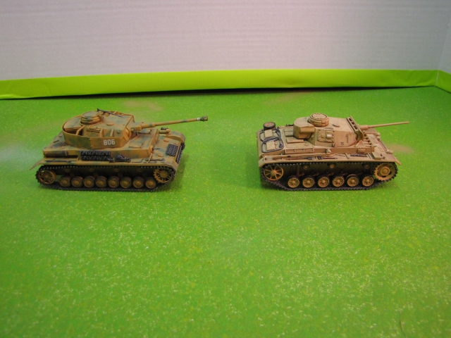 The Panzer IV and Panzer III