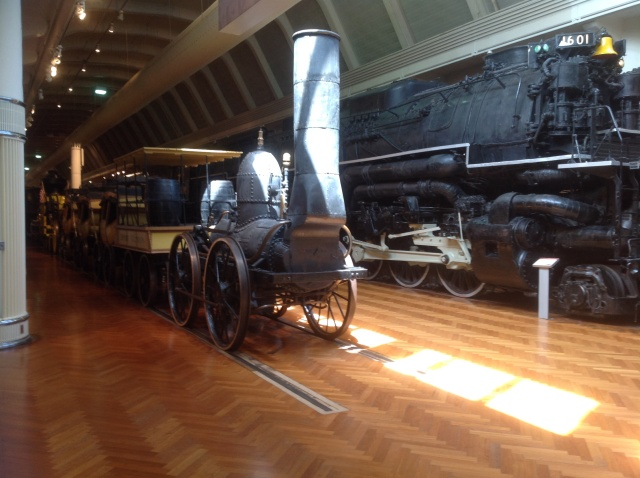 Trains: from very old to very powerful!
