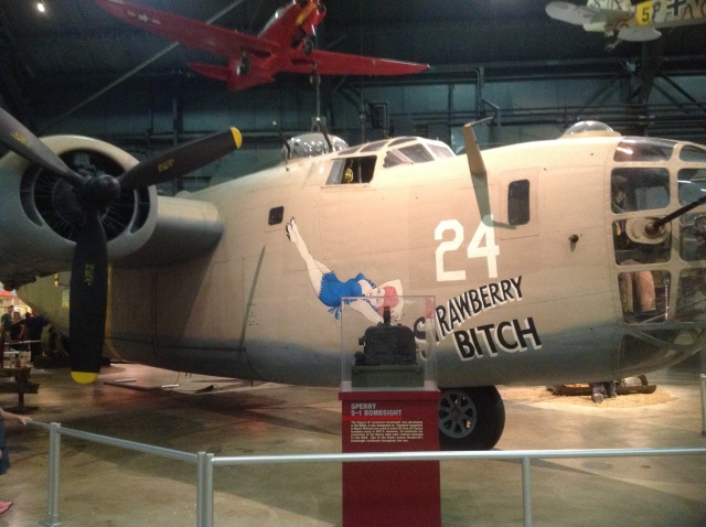 This is a really early B-24D Liberator, and an actual veteran of the North Africa campaign.
