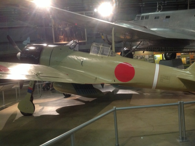 Beautiful restoration of an A6M2 Zero.