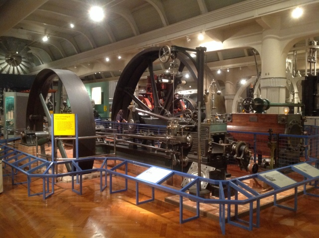 A very impressive area devoted to the Industrial Revolution.