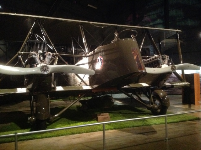 A Martin MB-2. This is the type Billy Mitchell used in his battleship bombing demonstration of 1921.