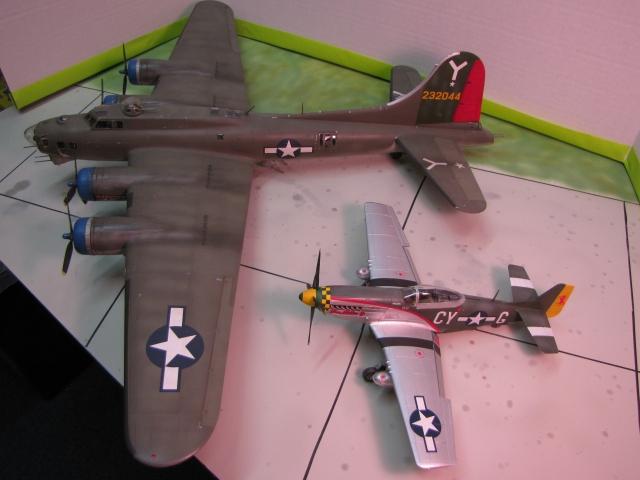 Big Friend/Little Friend.  The team that won the air war in Europe.
