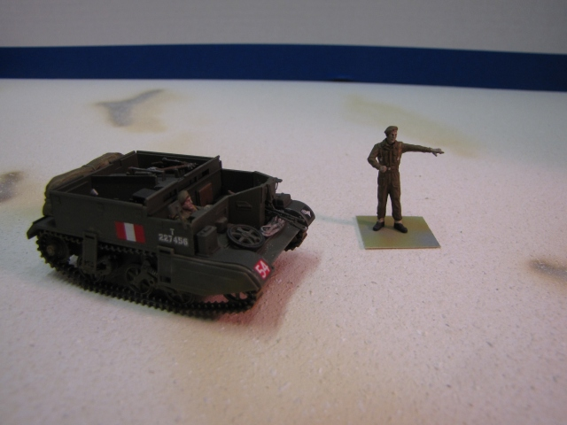 They wen't that away.... The Universal Carrier is not a large vehicle.