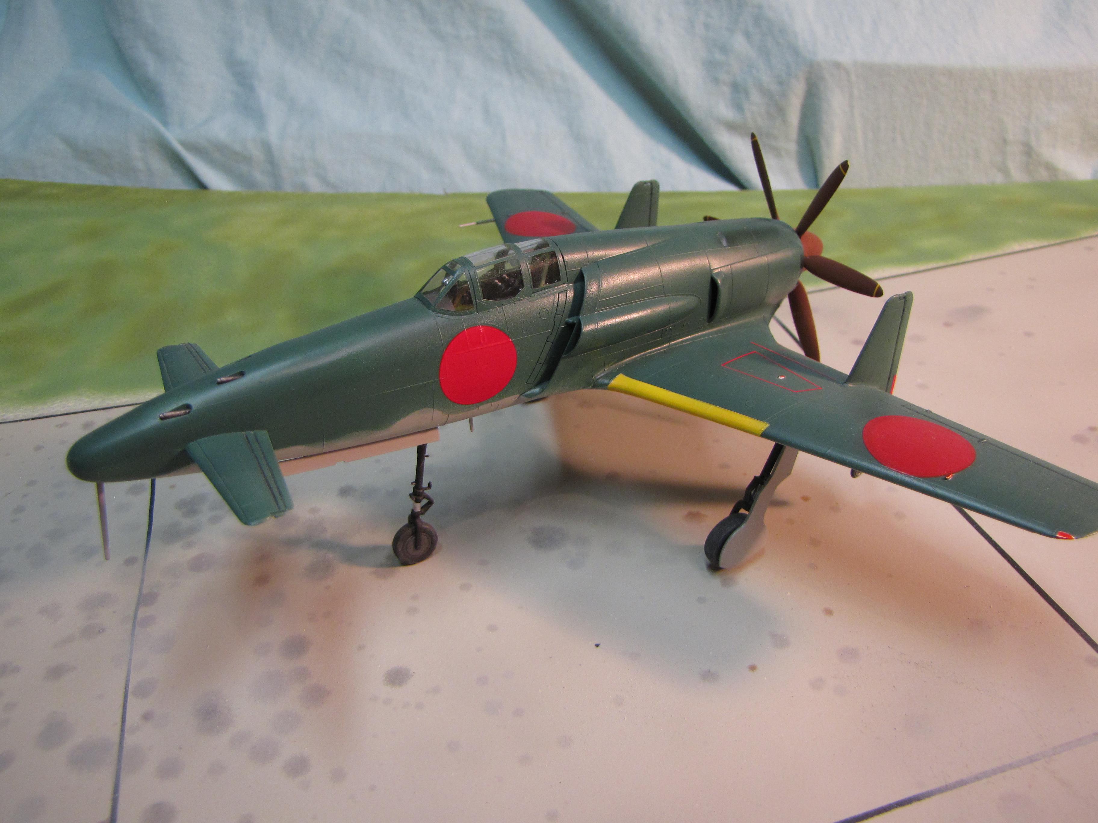 Kyushu J7W Shinden Plane Dave