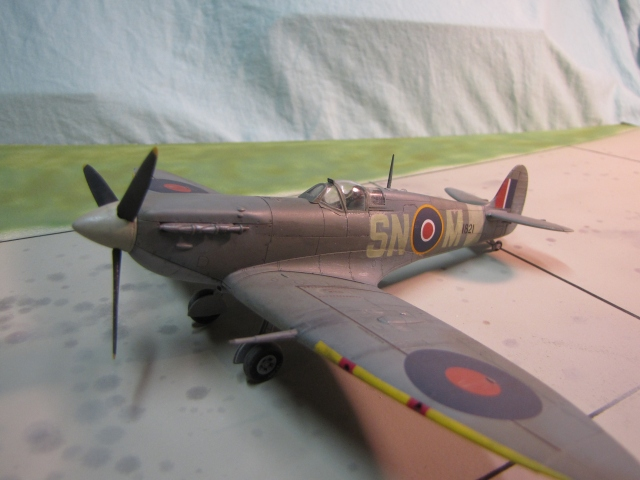 Supermarine Spitfire Mk Vb.  The most produced version of the famous fighter.