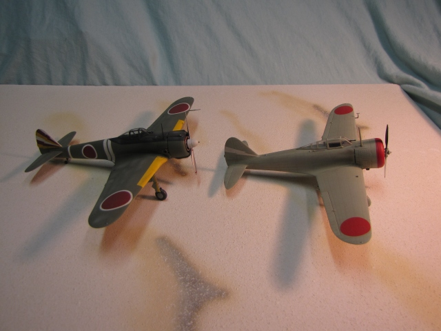 The Nakajima company provided a more modern design with the Ki-43 Oscar, that was replacing the Ki-27 in December of 1941 as World War II began.