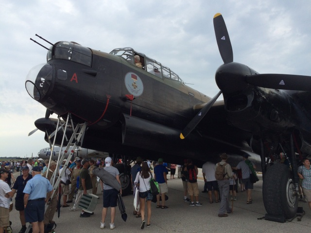 Avro Lancaster, a visitor from Canada.