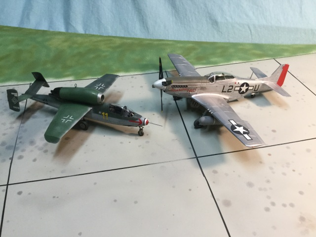 Fighter sweeps over Germany by large formations of P-51 Mustangs convinced Luftwaffe leadership they needed large numbers of superior aircraft. The small number of Me262 would never be enough.