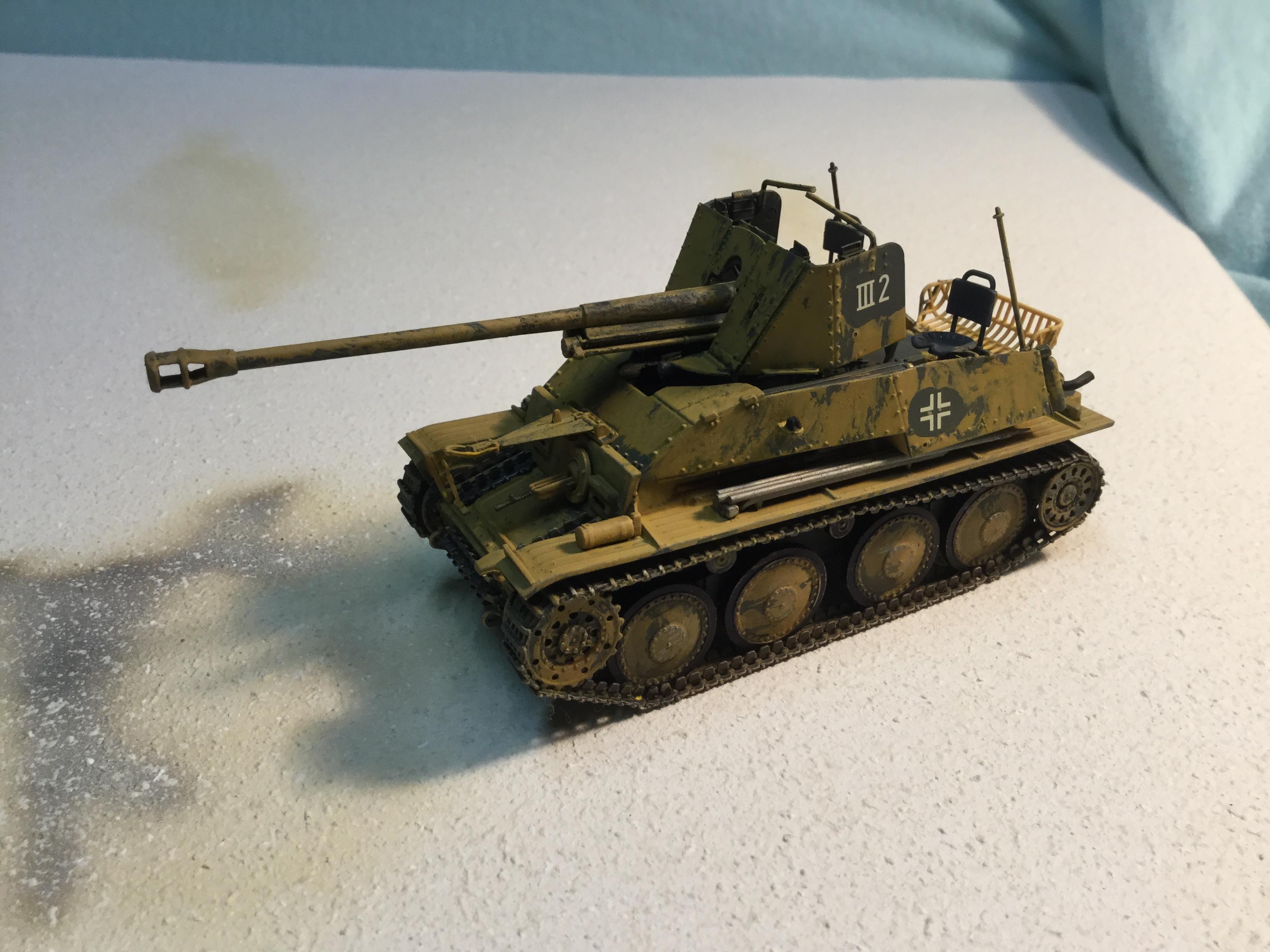 German Tank Destroyer Marder III Ausf M | World War Photos